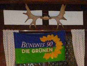 Banner mit Geweih